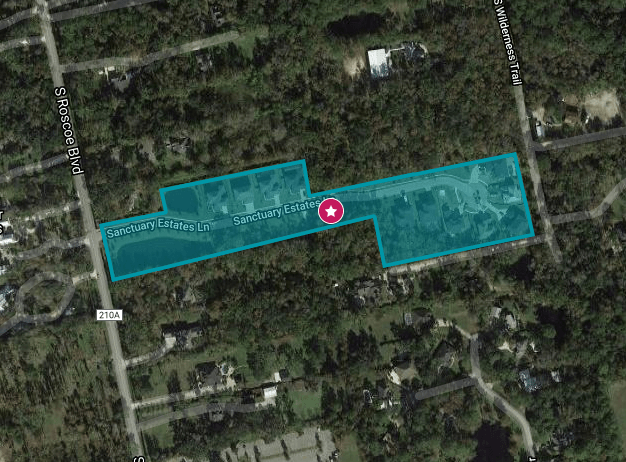 Enclave at Ponte Vedra Beach Area Map