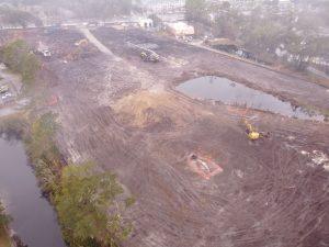 Apartment construction site in Mandarin Jacksonville, FL