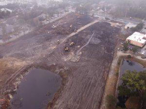 Apartment construction site in Mandarin, FL