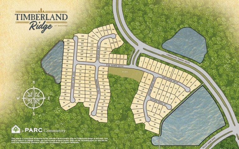 Timberland Ridge Nocatee FL Site Plan