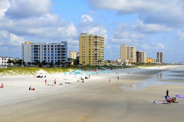 Jacksonville FL beach view