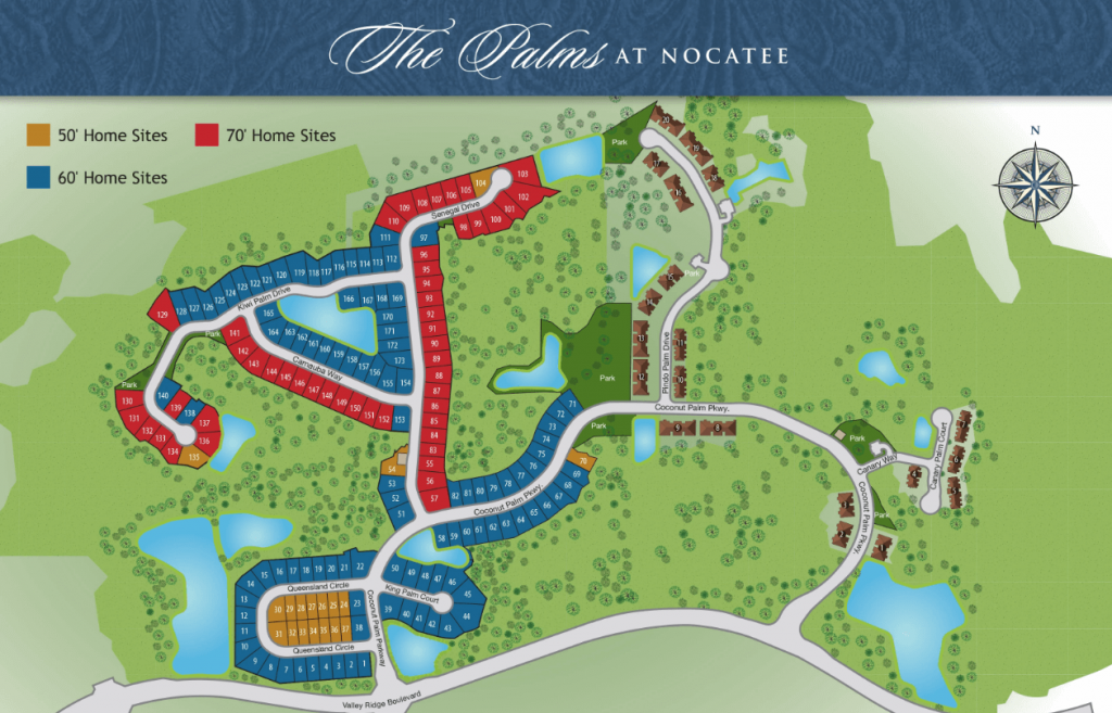 The Palms at Nocatee Site Plan